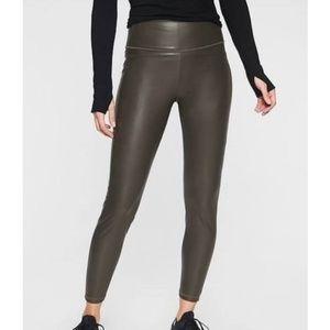 Athleta faux leather legging